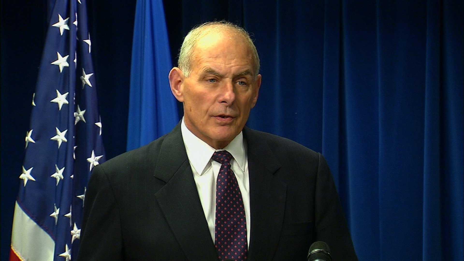 Incoming White House Chief of Staff John Kelly