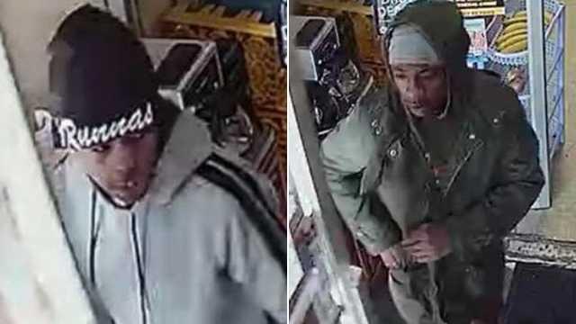 North Hilton Street homicide suspects