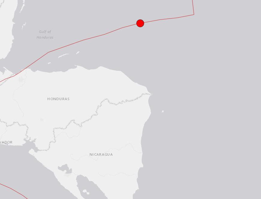 Magnitude 7.6 natural disaster  strikes in Caribbean Sea
