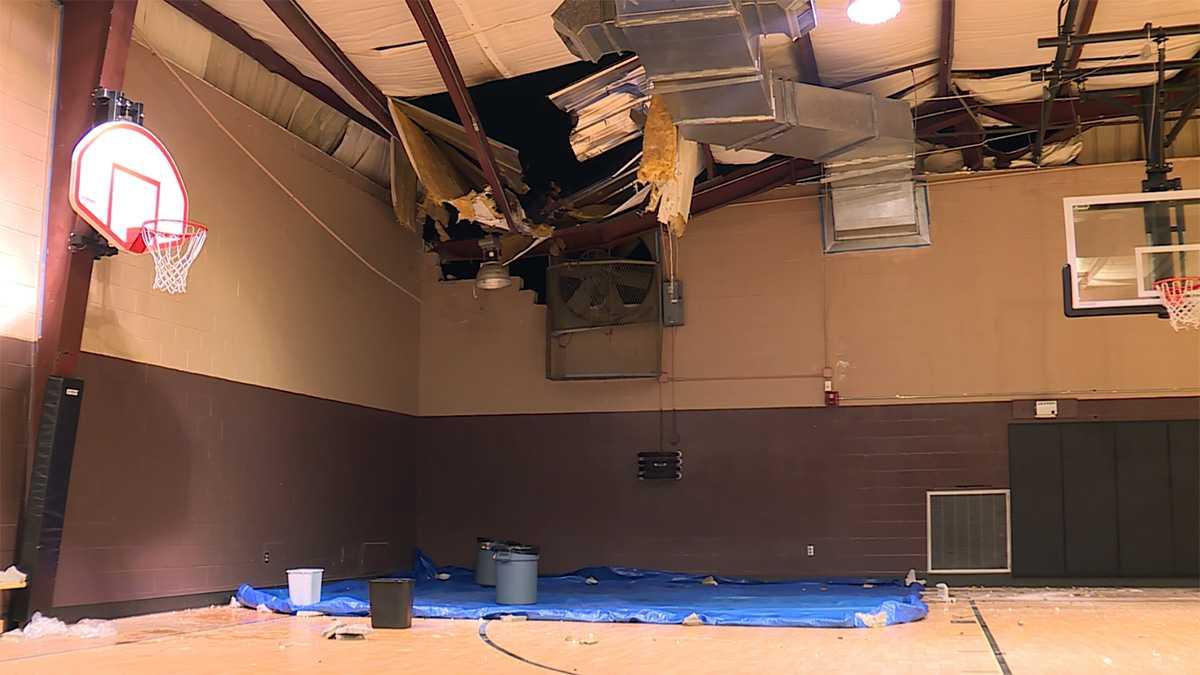 Hoover storm damage