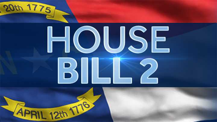 House Bill 2 HB2 LGBT North Carolina NC state flag