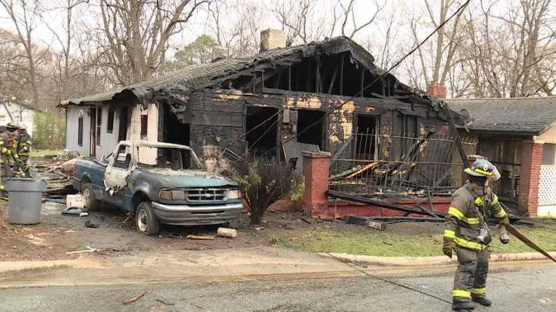 House fire in Birmingham