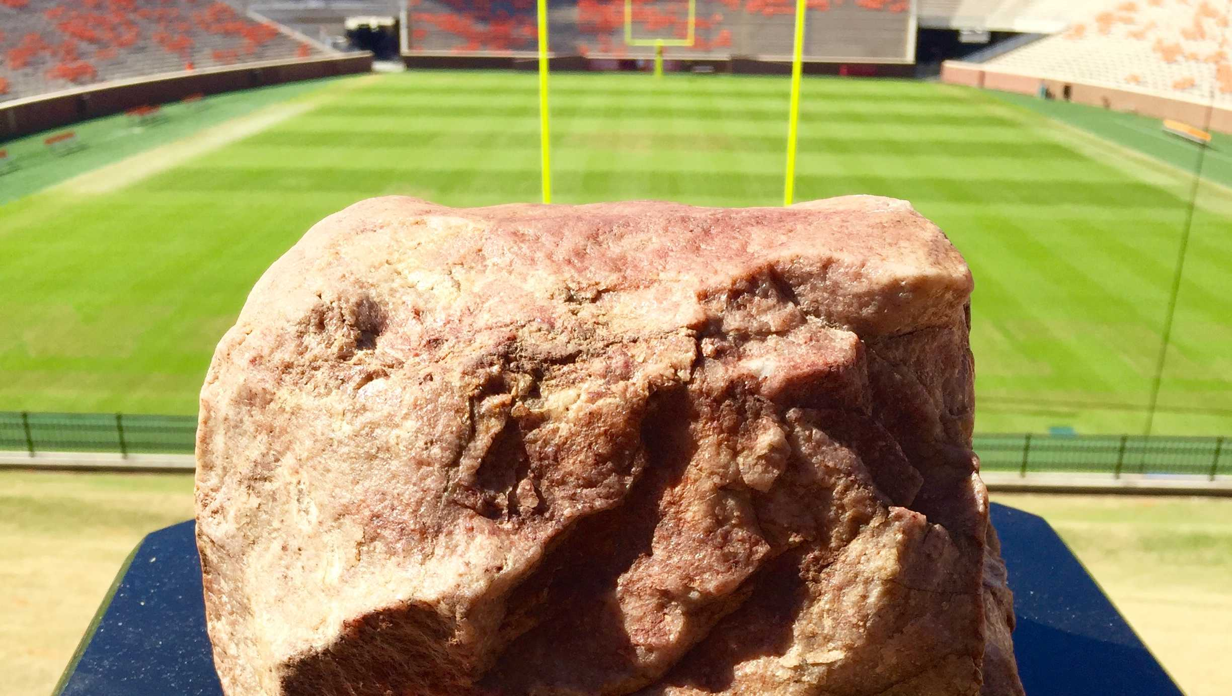 Clemson's Howard's Rock