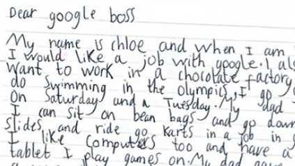 7yo google letter