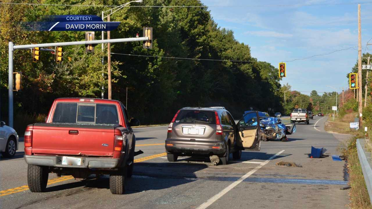 Police investigating serious three-car crash in Hudson