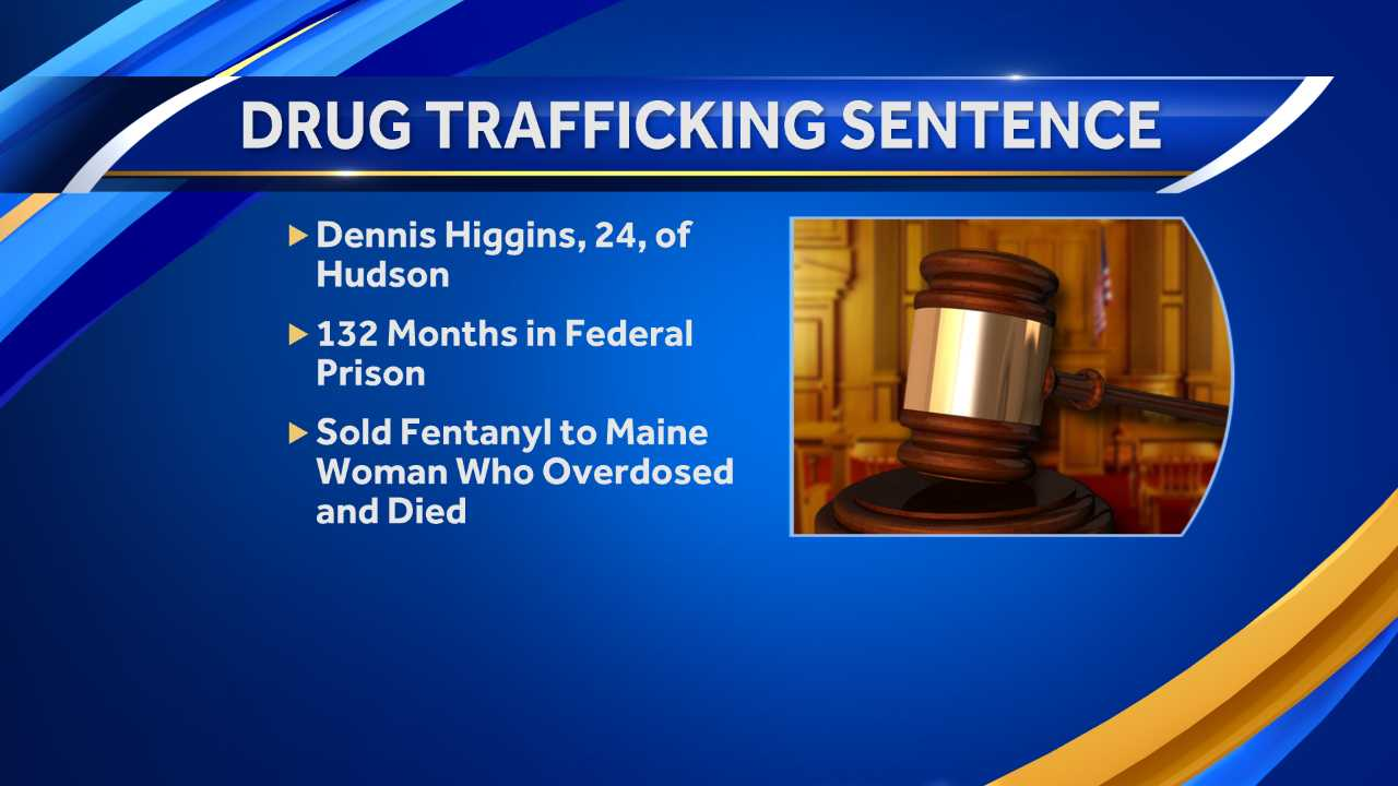 Former Hudson man sentenced for selling deadly dose of fentanyl