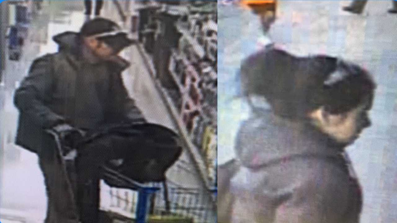 Hudson police looking for suspects in Walmart theft