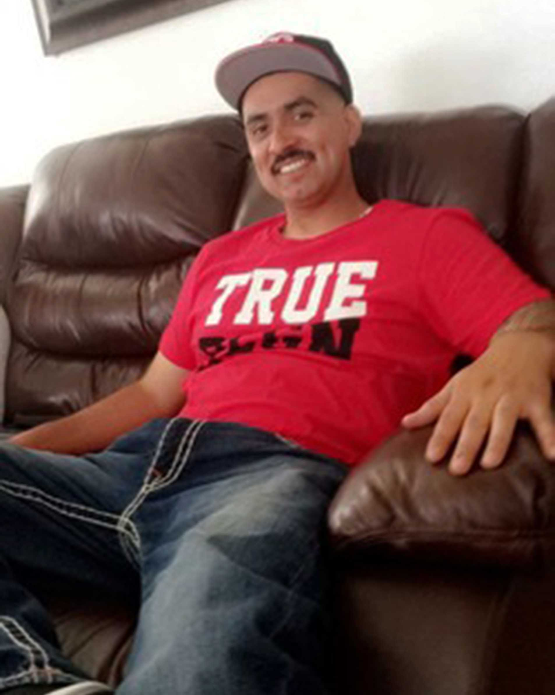 Hugo Martin Torres, 35, was gunned down in Gonzales Alley near East Gabilan Street on August 8.