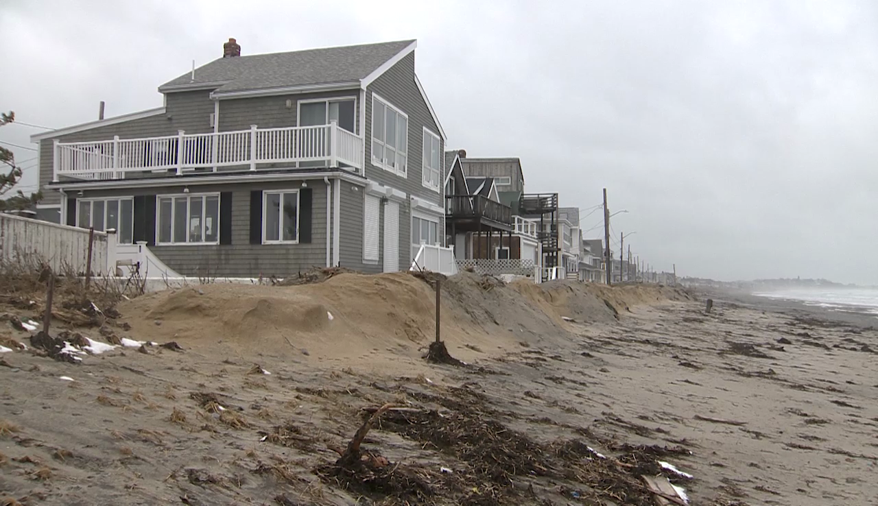 Beach communities face worrisome erosion after Nor'easters
