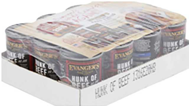 Evanger's Dog and Cat Food Hunk of Beef
