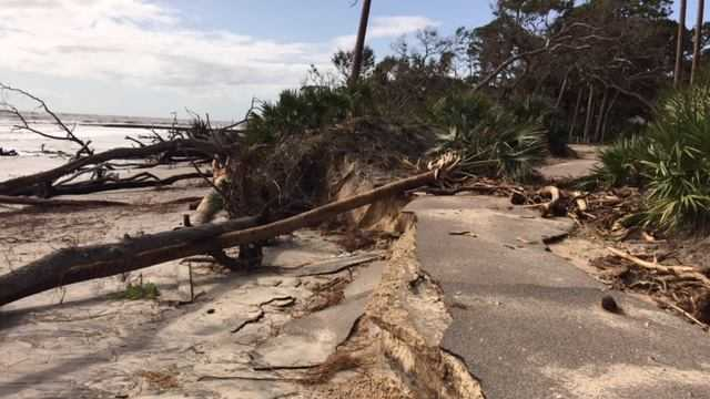 Hunting Island State Park Irma