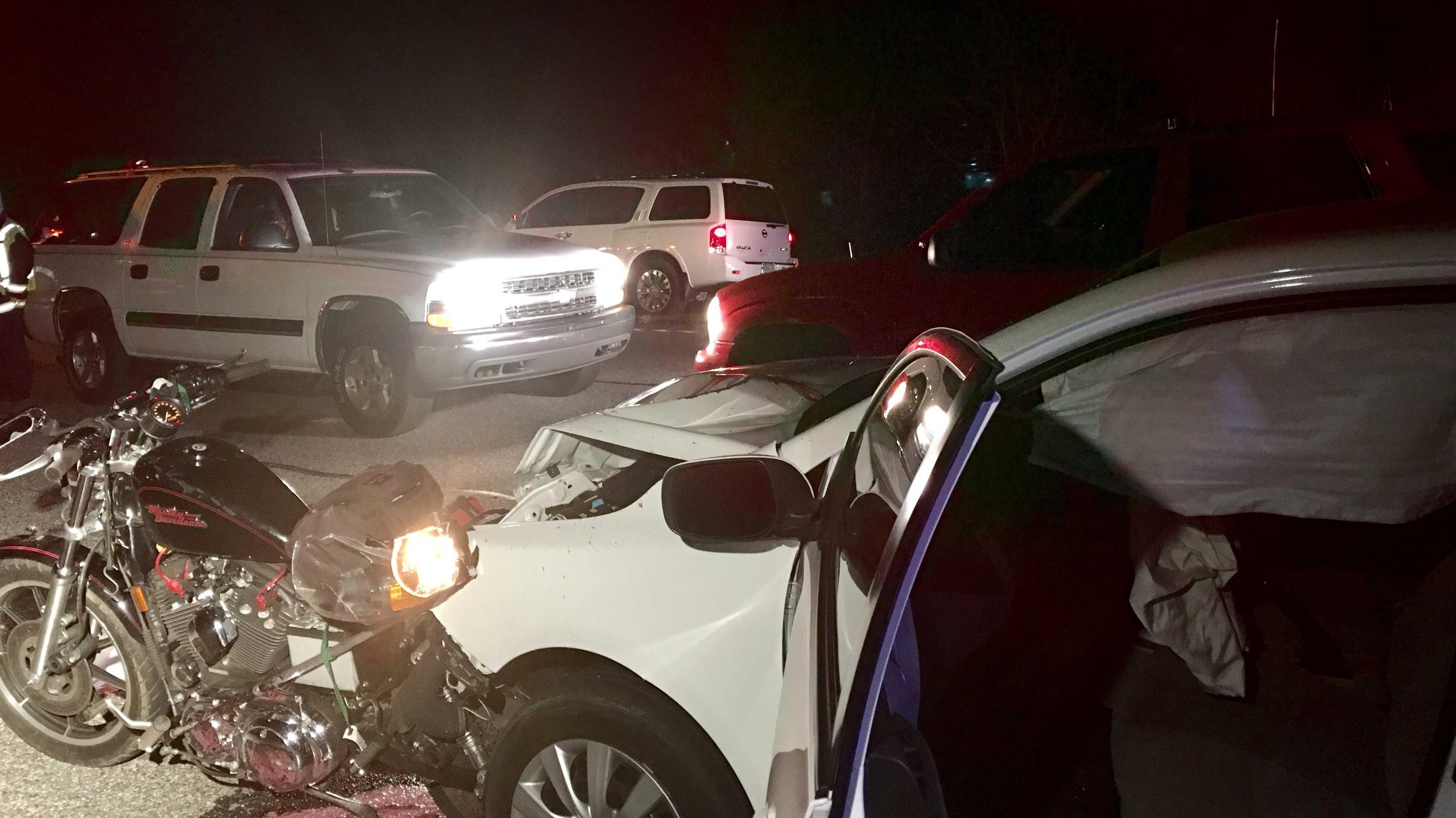 Hwy 29 motorcycle fatal