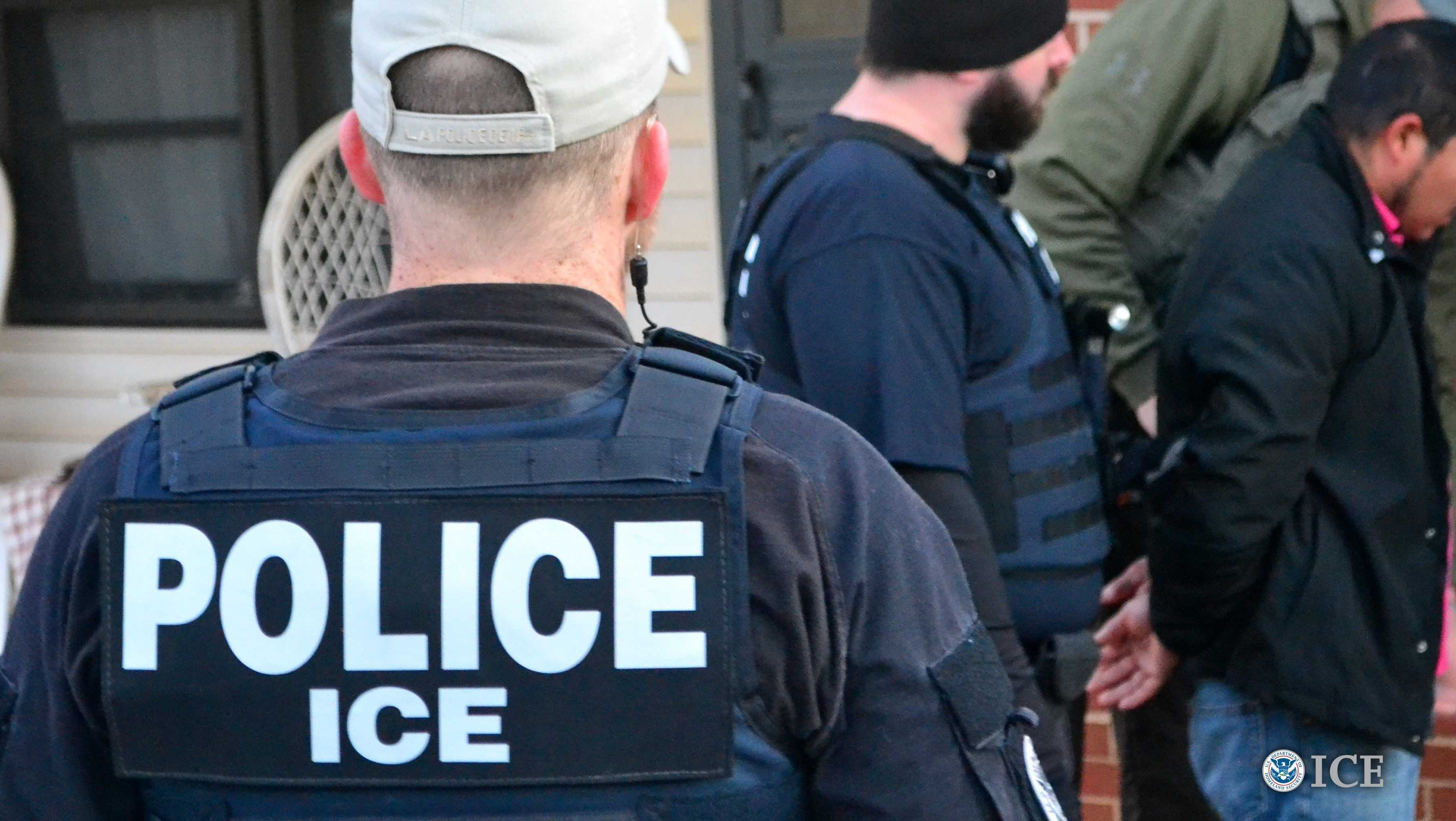 oreign nationals were arrested during the week of February 6, 2017, during a targeted enforcement operation conducted by U.S. Immigration and Customs Enforcement (ICE) aimed at immigration fugitives, re-entrants and at-large criminal aliens.