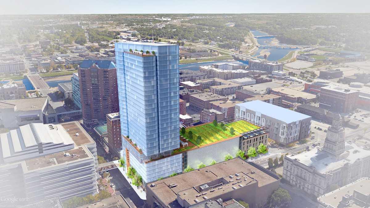 City approves $111M metro skyscraper