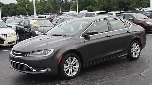 Baltimore police are looking for a Chrysler 200 like the one pictured in connection with a June 30 hit-and-run on North Fulton Avenue.