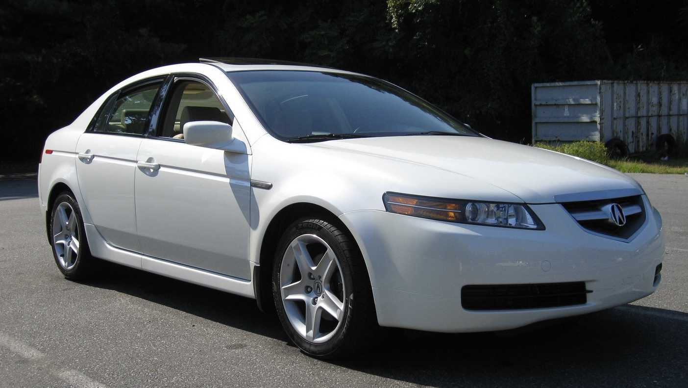 Acura TL sought by police