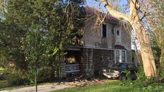 Prospect house fire