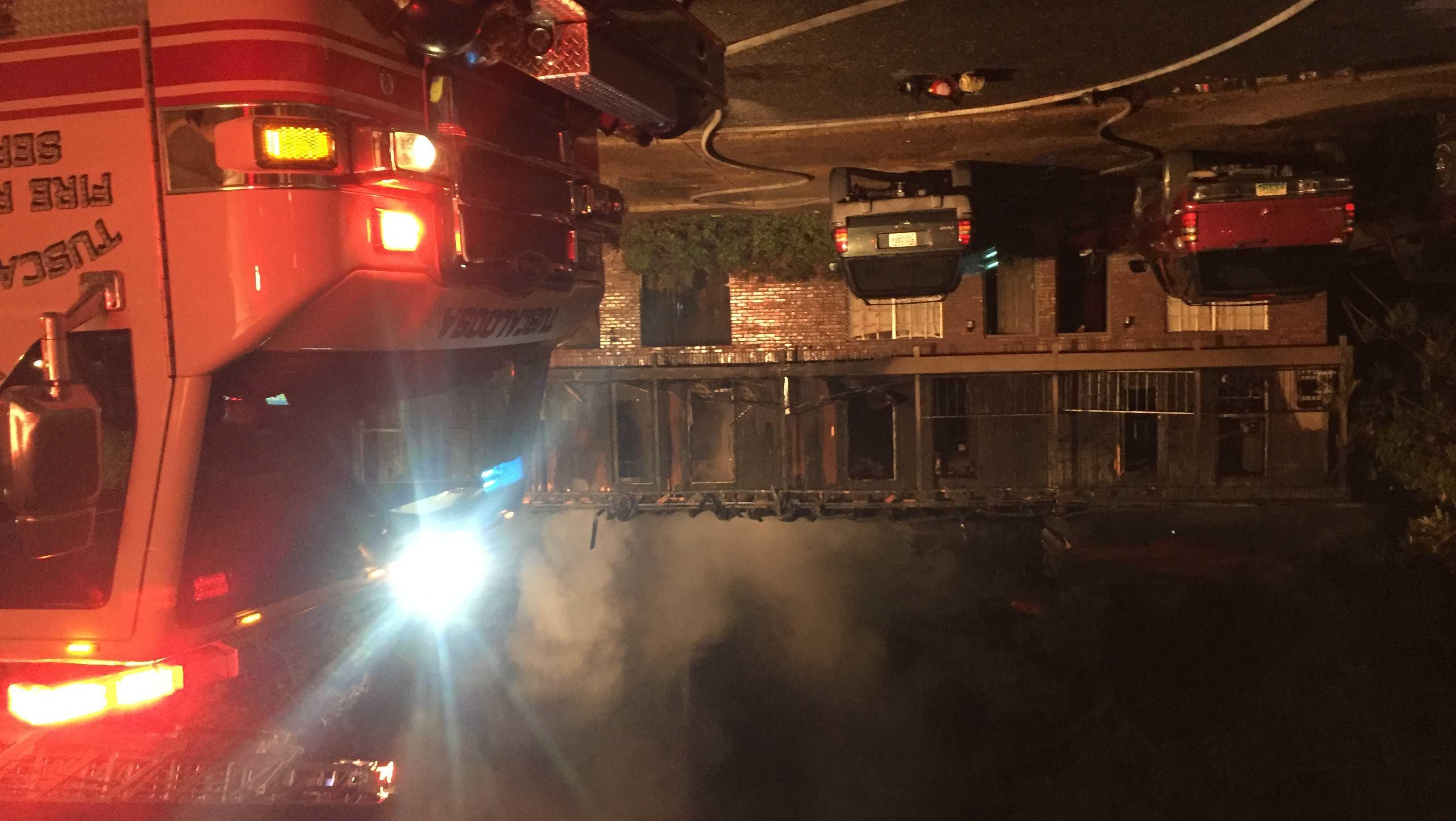 Tuscaloosa apartment fire