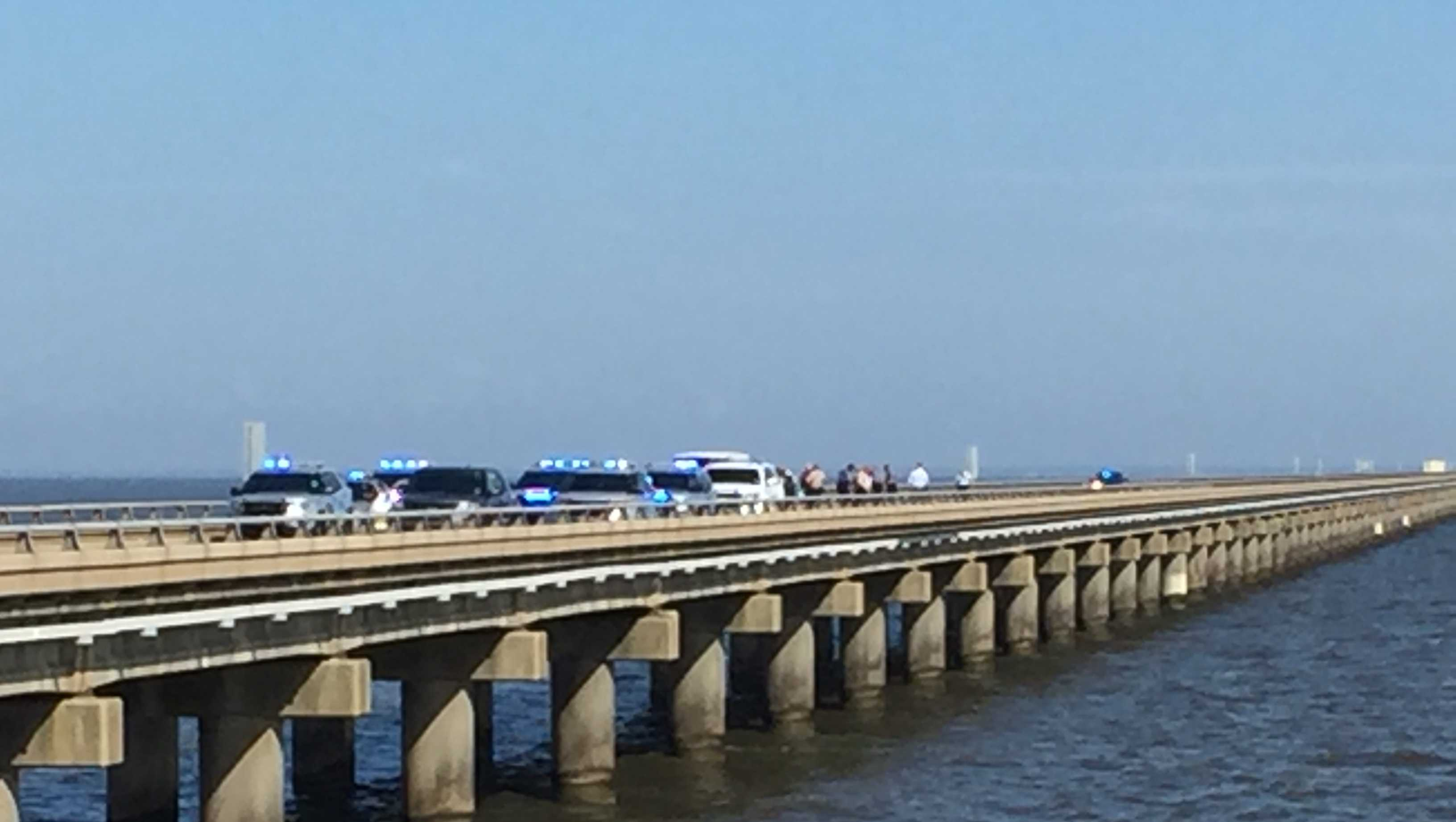 Police activity on the Causeway closes south lanes