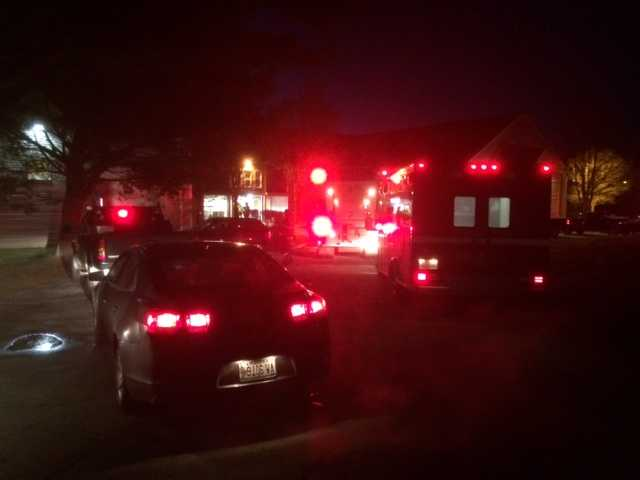 13 people without home after Spartanburg apartment fire