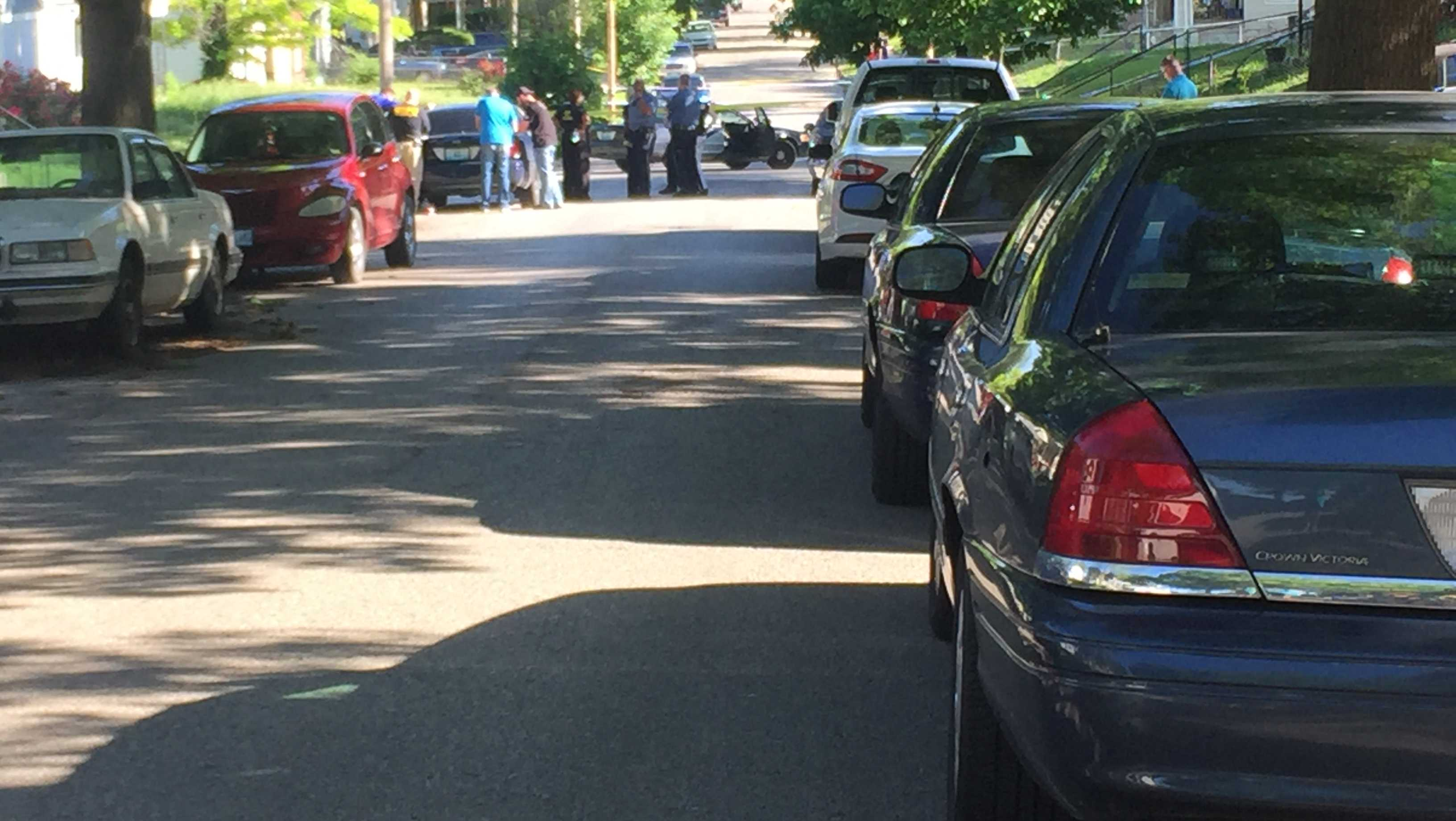 Child dies in triple shooting at 54th and Park