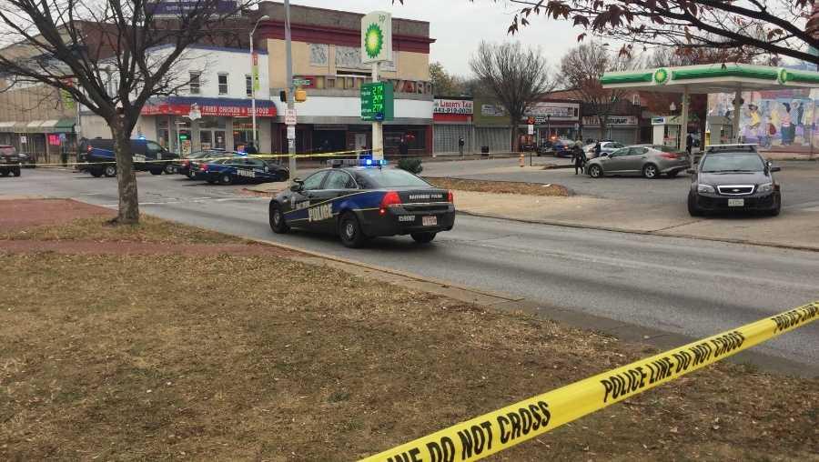 Greenmount Avenue police shooting November 2016