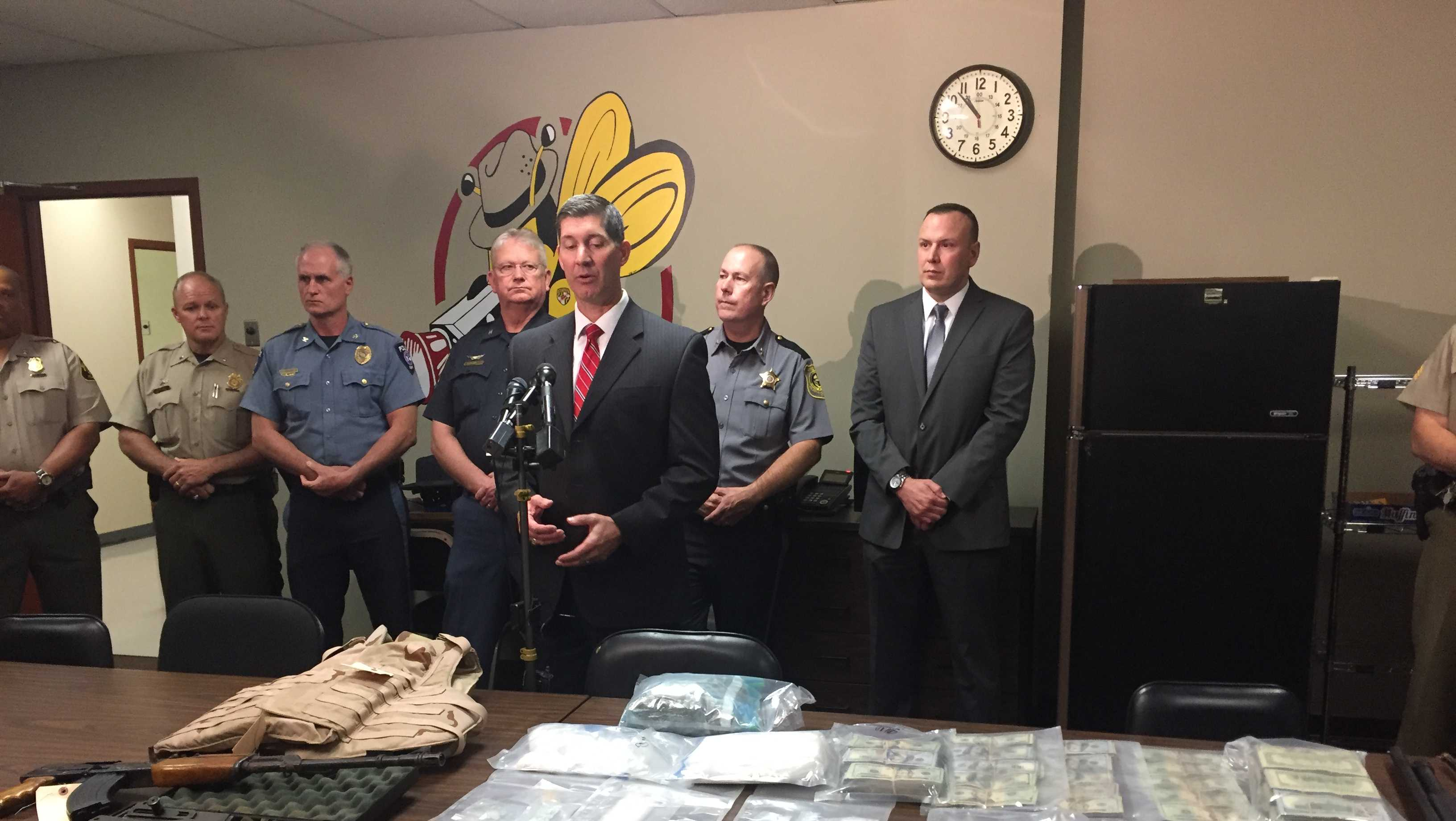 Police bust multistate drug ring
