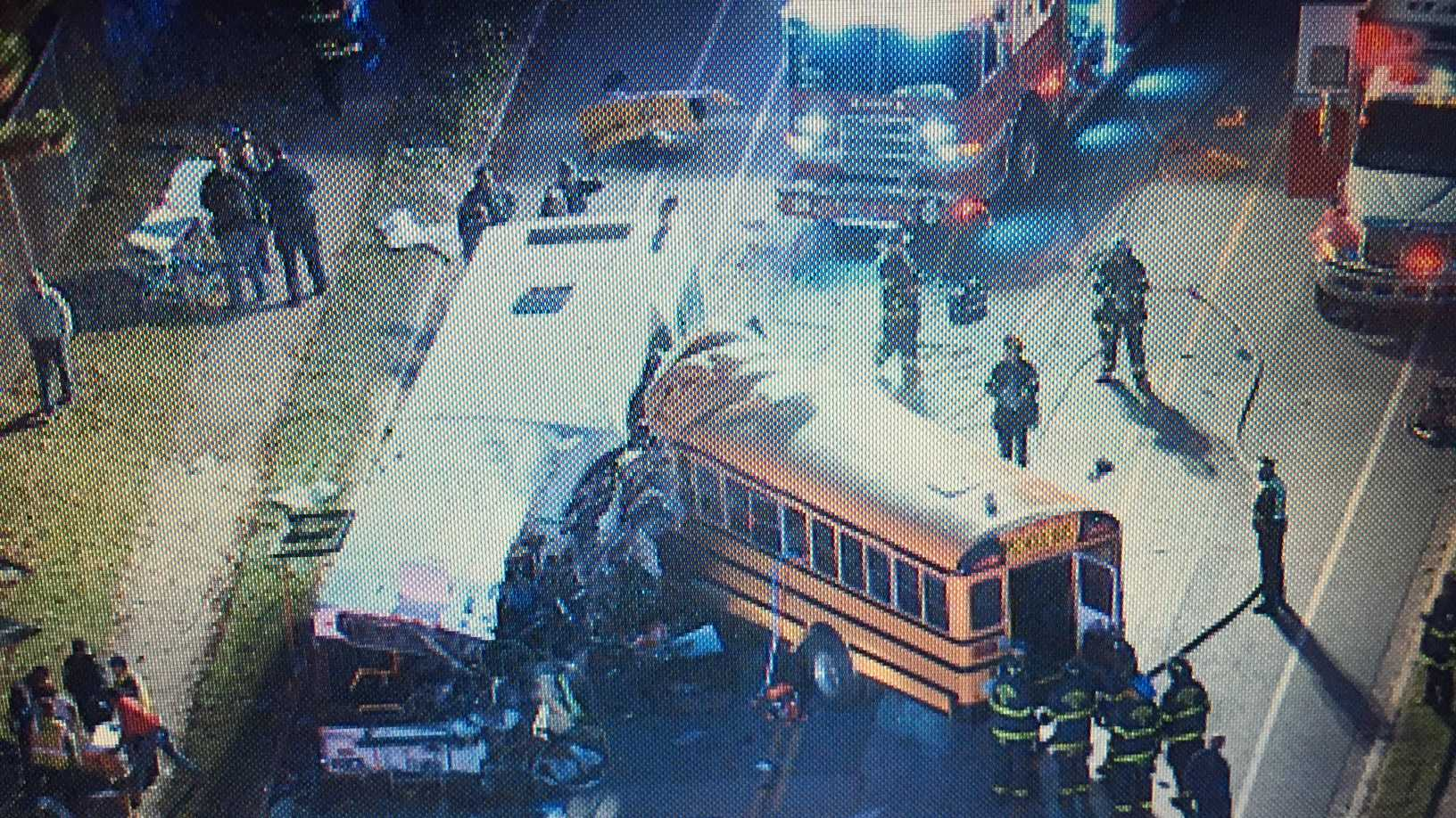 MTA, school bus crash