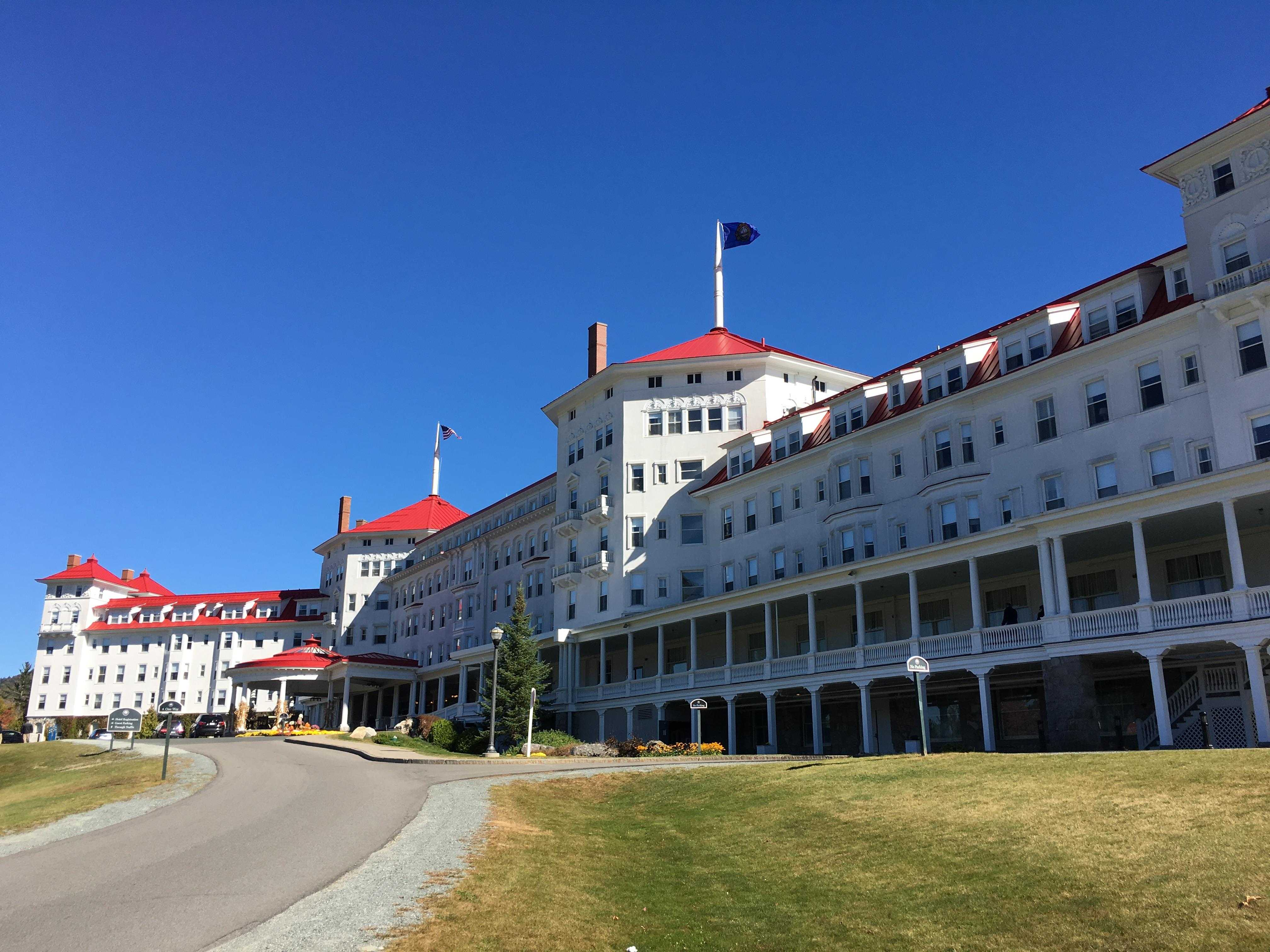 'Missing' hiker found at luxury hotel in the White Mountains