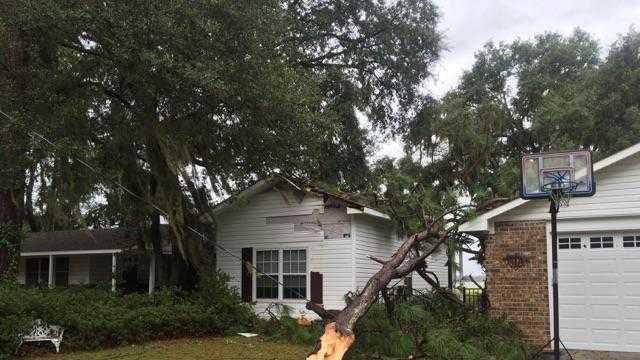 Beaufort damage