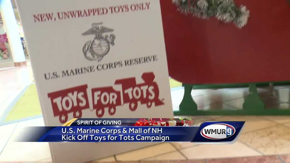 Toys For Tots Campaign : Marines mall of nh kick off annual toys for tots campaign
