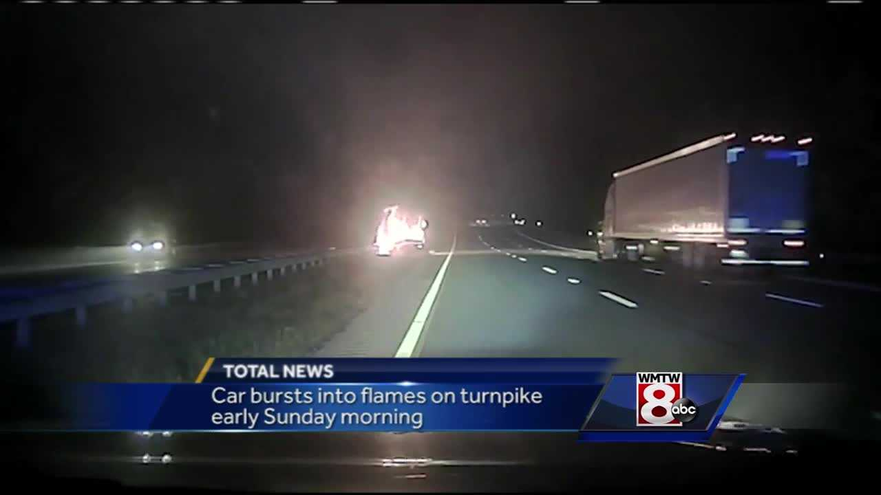 Turnpike Car Fire