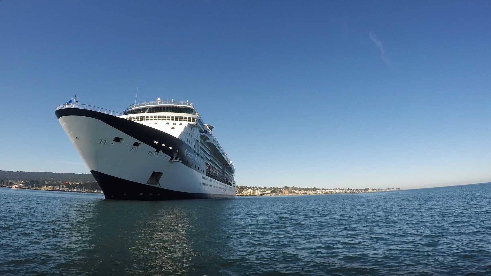 Monterey Bay cruise ship