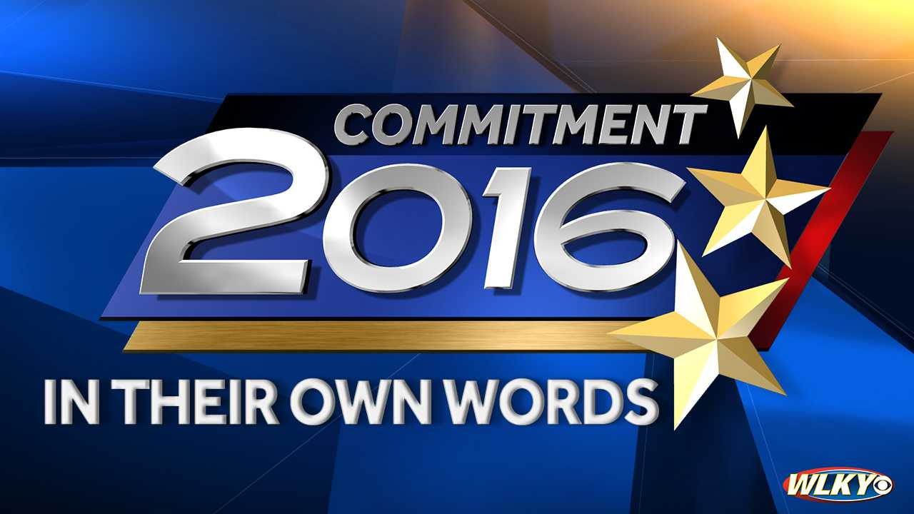 commitment 2016, in their own words