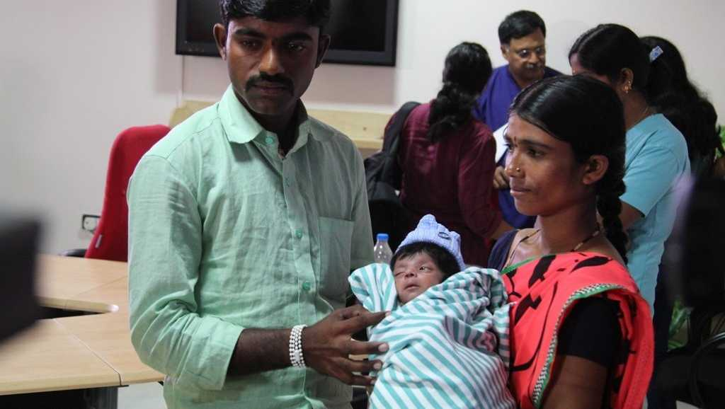 An Indian boy born with four legs and two penises is set to return home after a successful surgery. Doctors at Bangalore's Narayana Health City described the complexities of the case to local reporters at a news conference Thursday, Feb. 9, 2017.