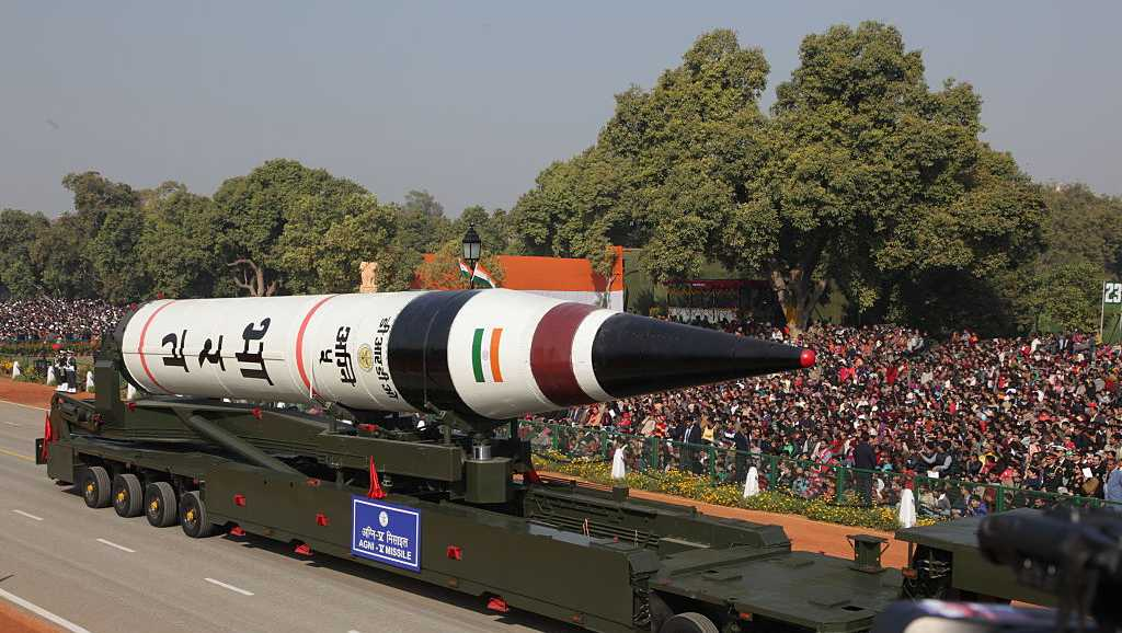 India celebrated its 64 th Republic Day on Jan 26, 2013 marking it with a mighty parade on the Raj Path in New Delhi. Military prowess was show cased, India's 5000 km range Agni-5 ballistic missile, along with main battle tank Arjun, Sukhoi 30 aircrafts and the heavy lift Hercules C-130 aircrafts.