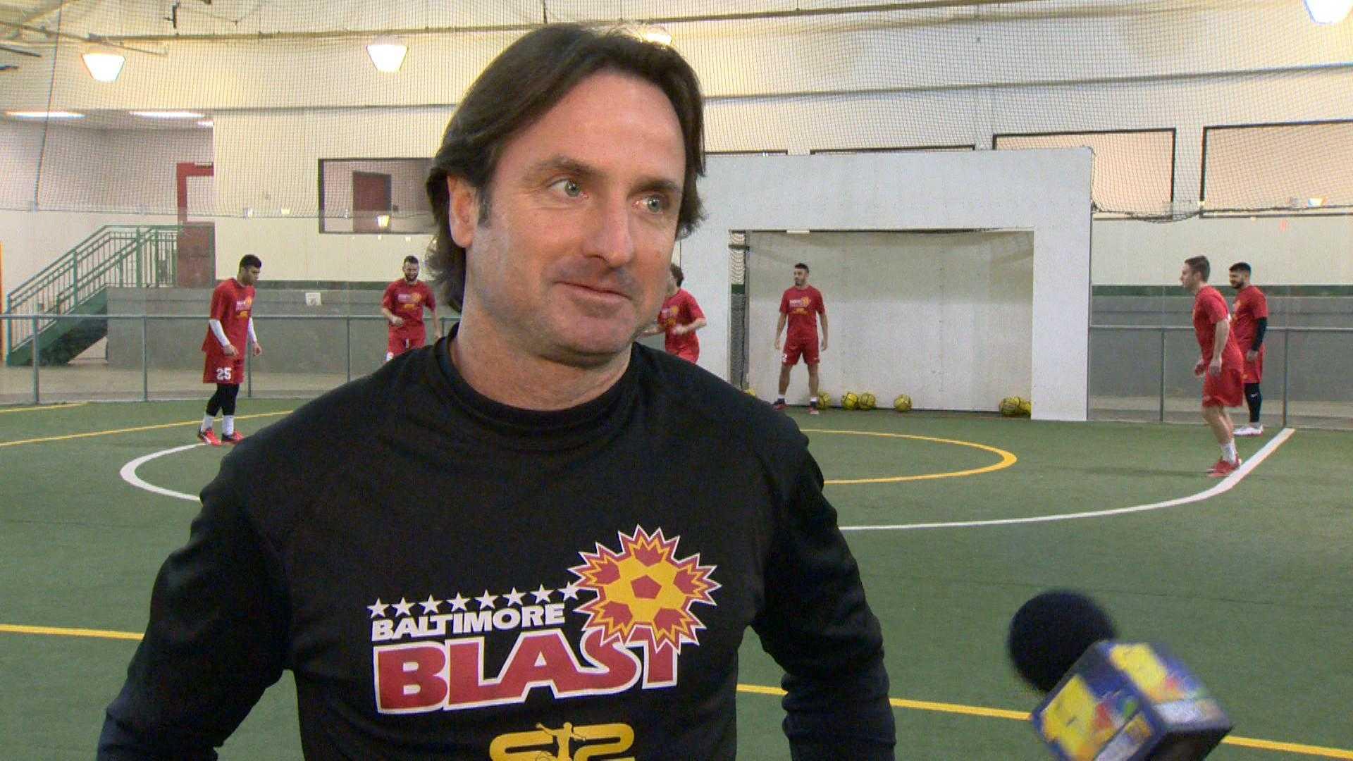 Blast coach Danny Kelly