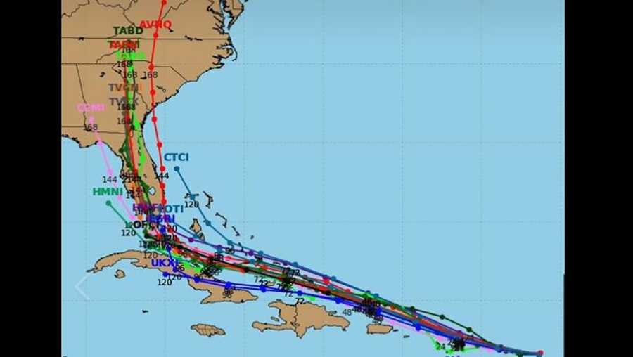 Irma prediction