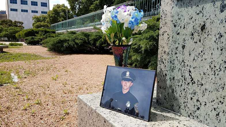 Friend of fallen officer to commissioners: 'You failed miserably'