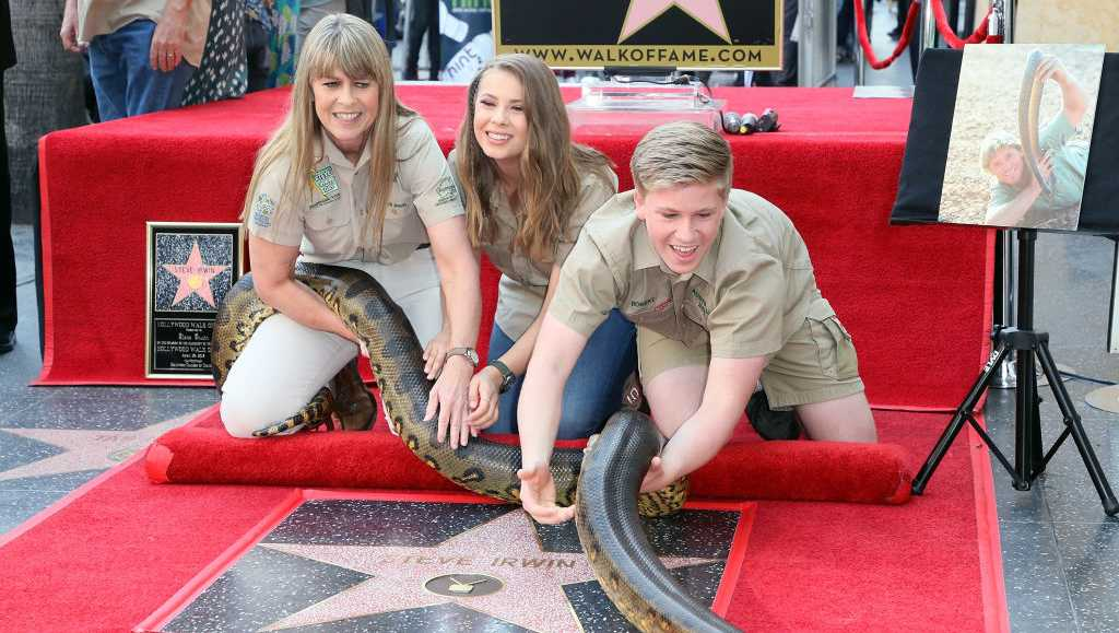 Terri Irwin, Bindi Irwin and Robert Irwin