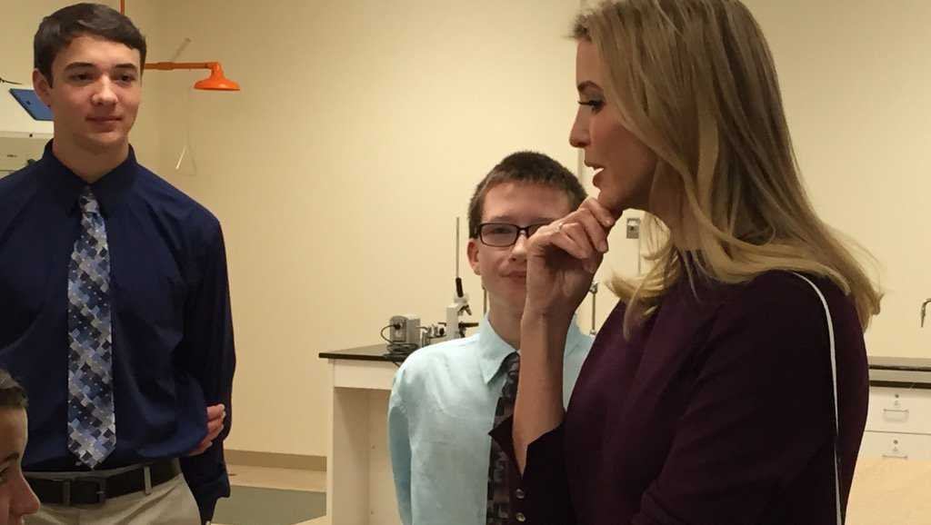 Ivanka Trump in New Hampshire
