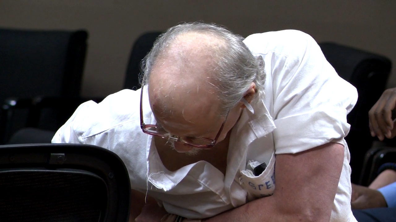 Jack Gordon Greene in a hearing on Nov. 2, 2017.