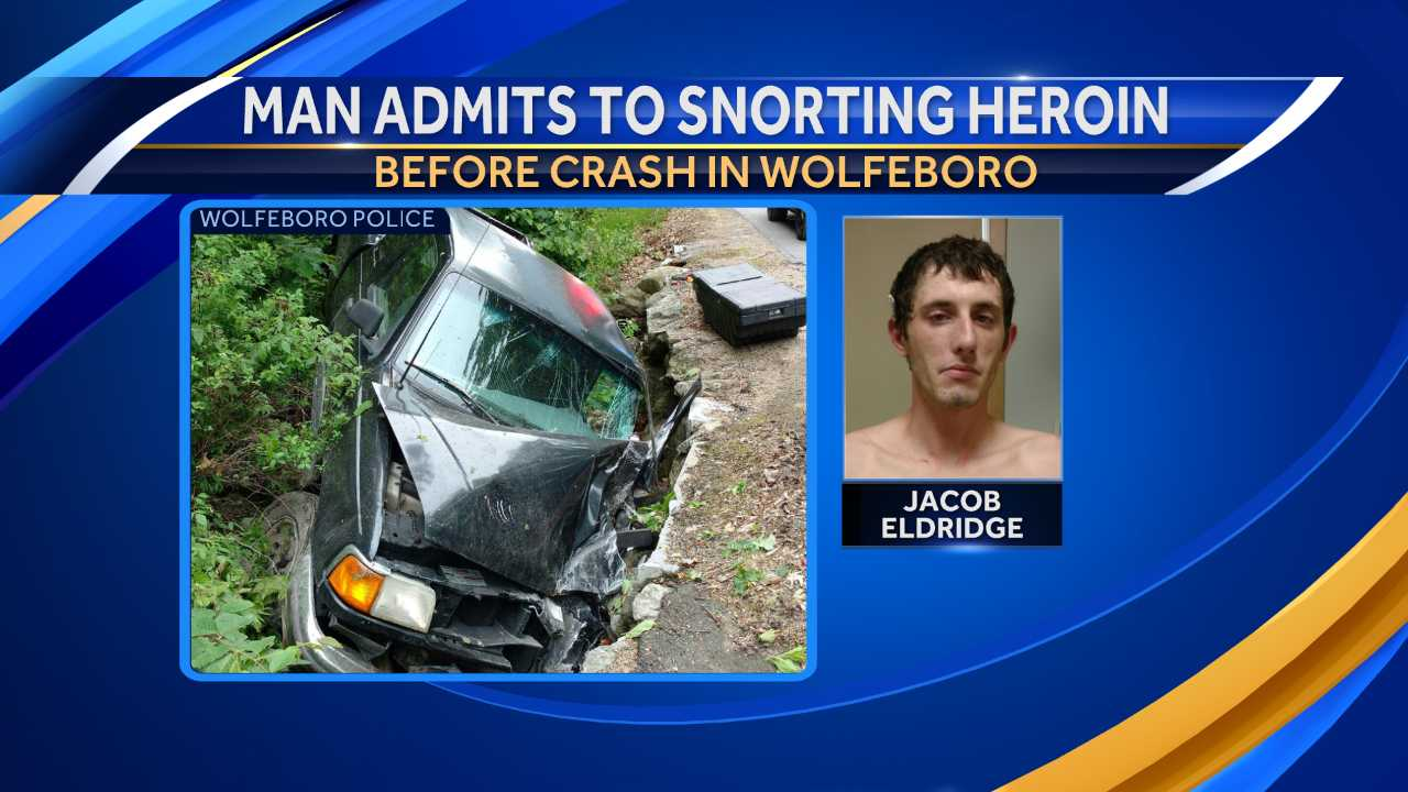 Jacob Eldridge snorted drugs before crash, police say