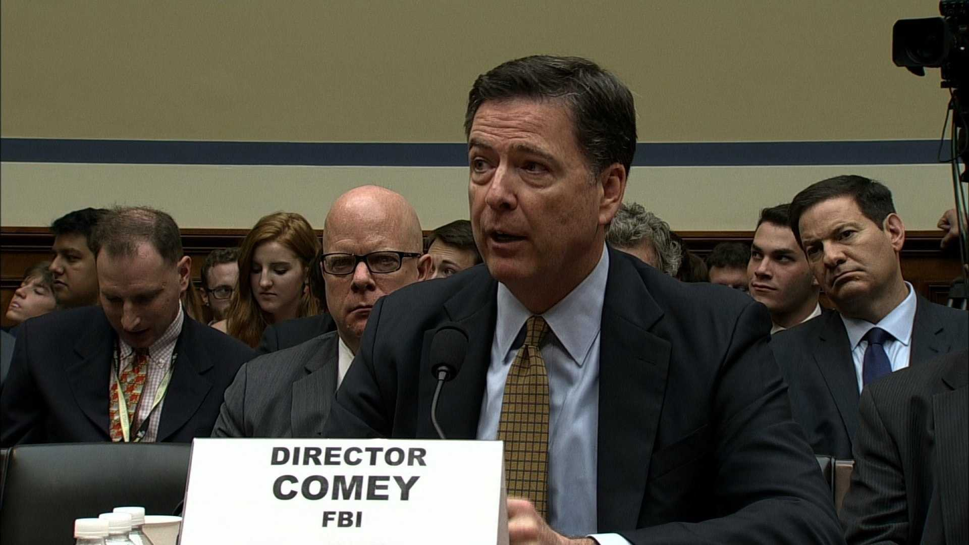 Fired FBI Director James Comey
