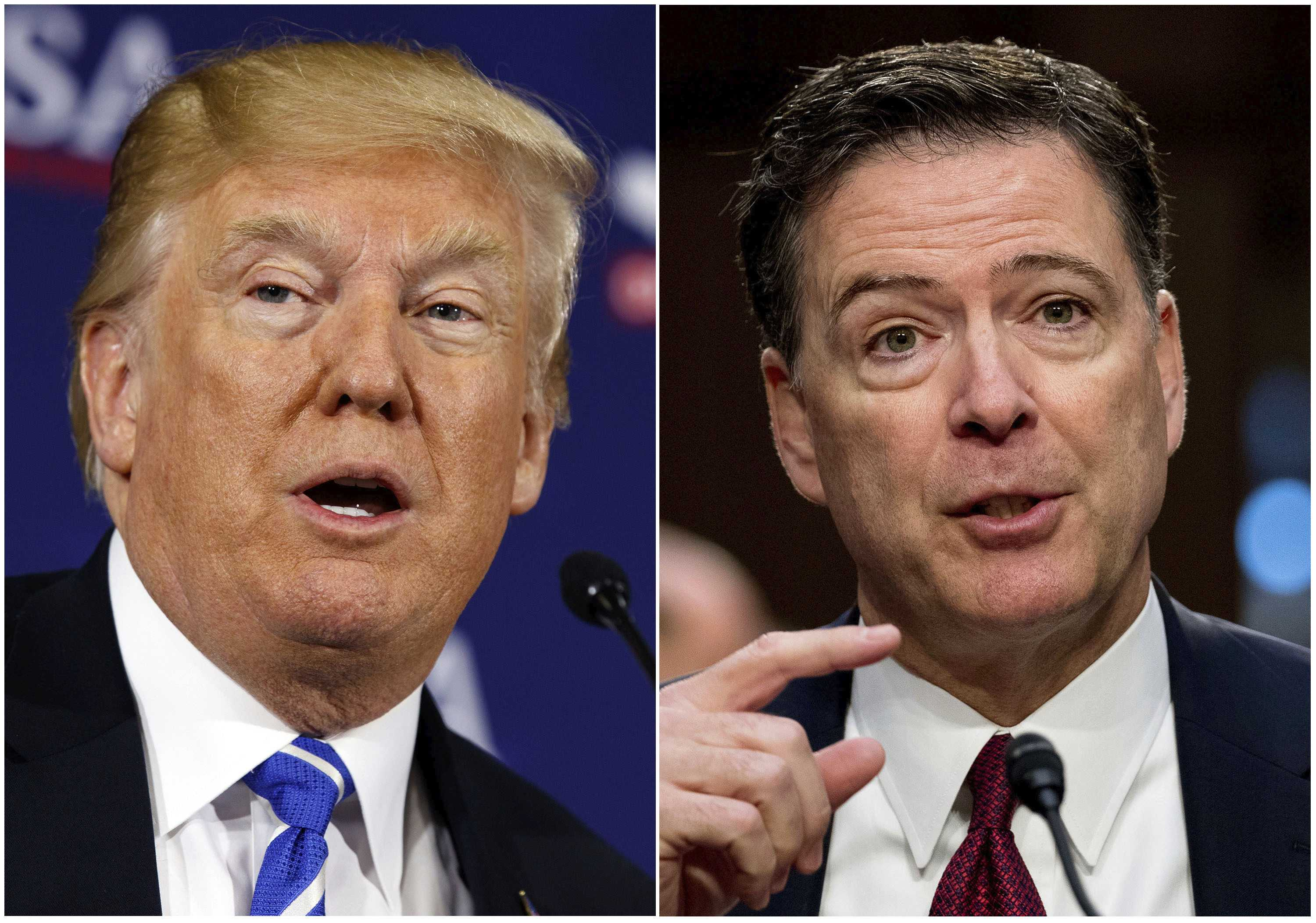 Comey says Trump 'morally unfit' in prime-time interview