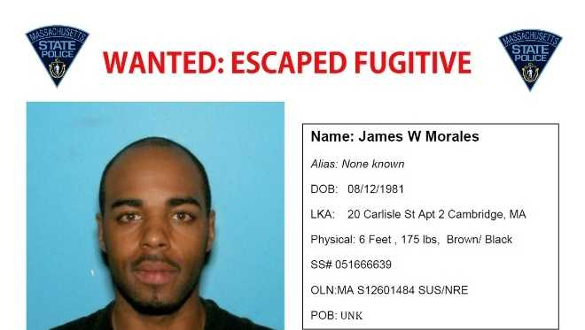 James Morales sought by police in two states