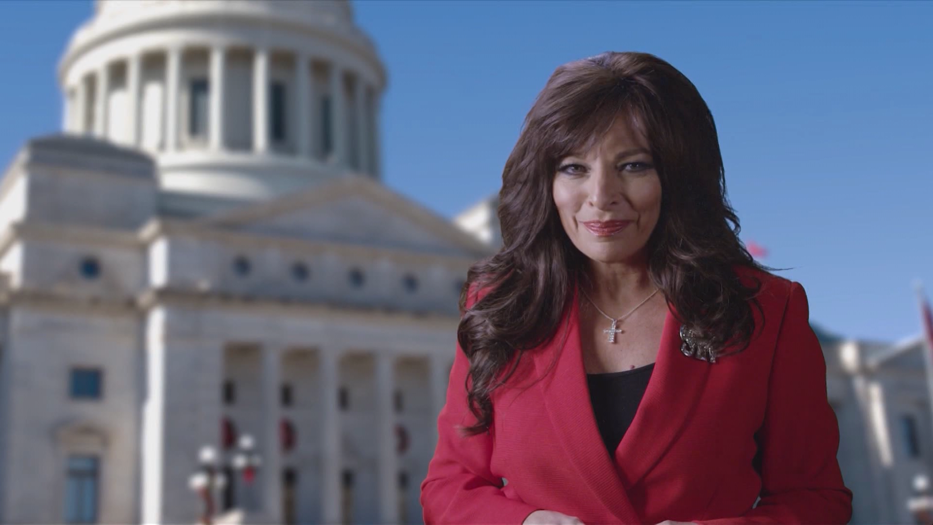 GOP candidate for governor Jan Morgan