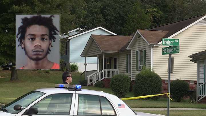 Jaquan Gore arrested in drive-by shooting at Five Royales Drive in Winston-Salem