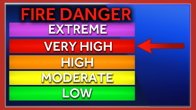 Northeast Oklahoma at 'very high' risk Saturday for fire danger