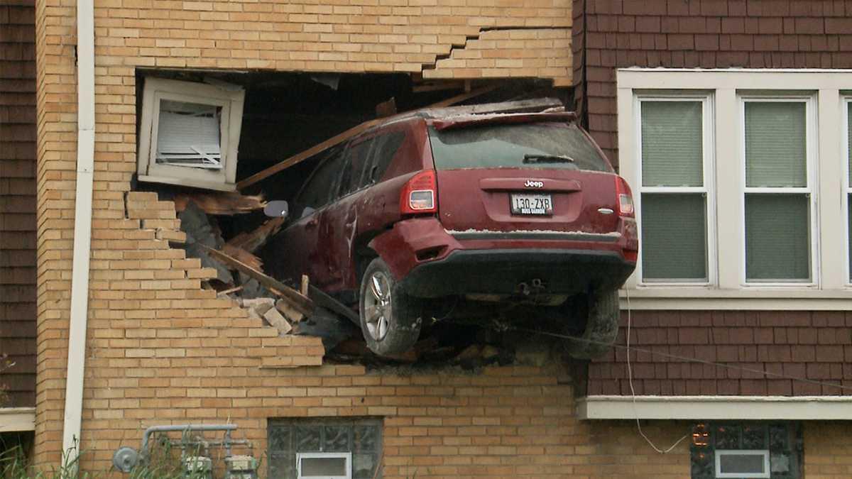 I Crashed My Car Into A House